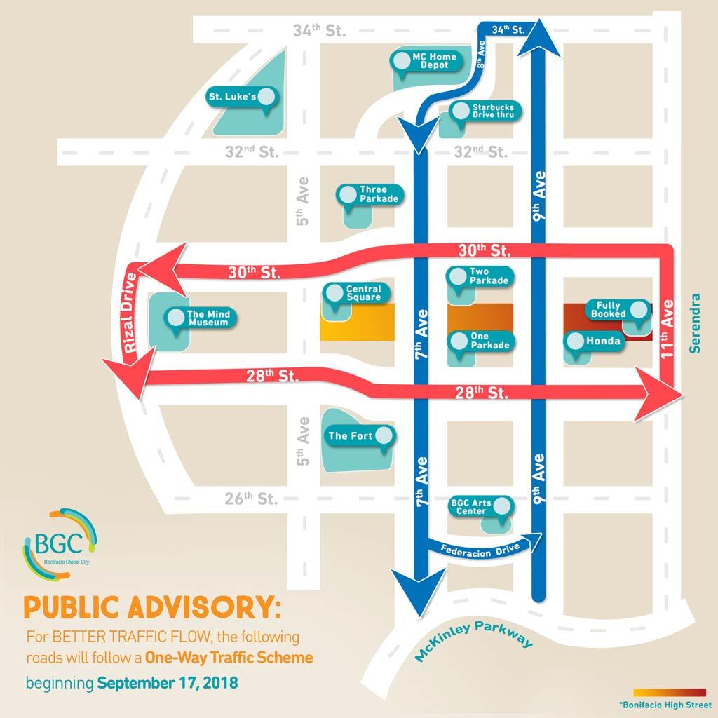 Bonifacio Global City One-Way Loop